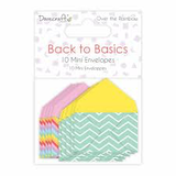 Dovecraft - Mini Envelopes - Over the Rainbow _