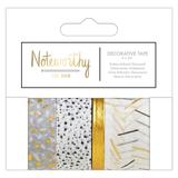 Noteworthy - Metallic Mono Decorative Tape_
