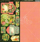 Graphic 45 - Lost in Paradise - Tags & Pockets_
