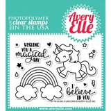 Avery Elle - Clear stamps - Be a Unicorn_