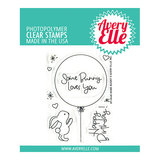 Avery Elle - Clear stamps - Some Bunny_
