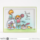 Waffle Flower Clear Stamps: Sweets_