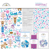 Doodlebug Design - Winter Wonderland Essentials Kit_