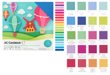 American Crafts - Cardstock Pack: Bright_