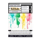 "Vicky Boutin • Wildflower & Honey mixed media paper pad 6x8""_"
