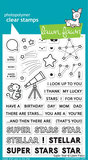 Lawn Fawn - Clear Stamps: Super Star _