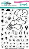 Carlijn design - stempelen - Nederland icoontjes_