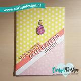 Carlijn design - stempelen - kaarsjes uitblazen_