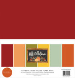 Carta Bella - 12x12 inch Coordinating Solids Paper Pack: Hello Autumn_