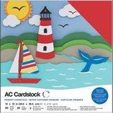 American Crafts - Cardstock Pack: Primaries_