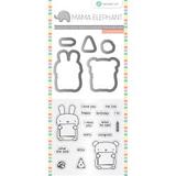 Mama Elephant Stamp & Die Set: Dos Amigos_