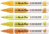 Ecoline Brushpen Set: Yellow_