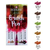Ecoline Brushpen Set: Autumn_