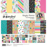 """Simple Stories Oh, Happy Day! 12"""" x 12"""" Collection Kit_"""