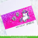 Lawn Fawn - Clear Stamps: A Little Sparkle _