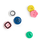 Crate Paper - Embellishment Buttons: Oasis_