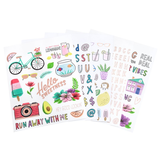 American Crafts - Amy Tangerine - Sticker Book: Stay Sweet _