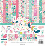 """Echo Park - 12""""x12'' Collection Kit: Imagine That! Girl_"""