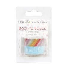 Dovecraft - Back to Basics - Over The Rainbow Washi Tape
