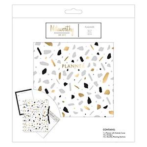 Noteworthy - Metallic Mono Planner