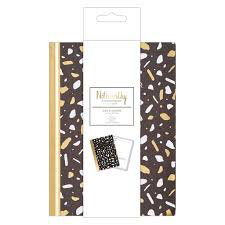 Noteworthy - Metallic Mono Day Planner
