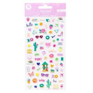Journal Studio - Mini Puffy Stickers: Good Vibes