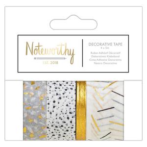 Noteworthy - Metallic Mono Decorative Tape