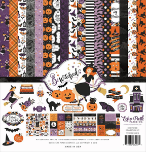 "Echo Park - 12""x12"" Collection Kit: Bewitched"