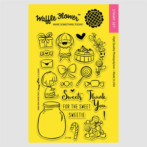 Waffle Flower Clear Stamps: Sweets