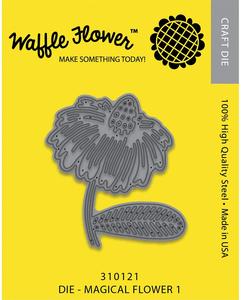 Waffle Flower Die: Magical Flower 1