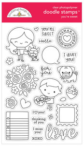 Doodle stamps - You're Sweet