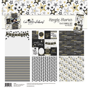 Simple Stories - Con-GRAD-ulations simple Kit