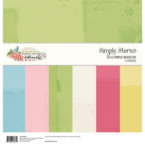 Simple Stories Simple Vintage Botanicals Simple Basics Kit