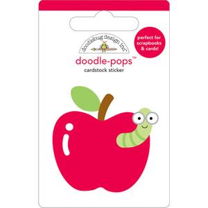 Doodlebug Design - Doodle-Pops - 3 Dimensional Cardstock Stickers - For Teacher