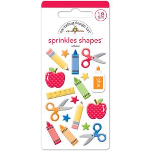 Doodlebug - Shape Sprinkles - School