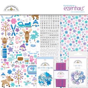 Doodlebug Design - Winter Wonderland Essentials Kit