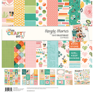 Simple Stories - Collection Kit: Hey Crafty Girl
