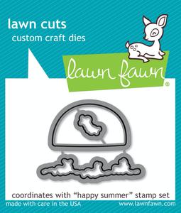 Lawn Fawn Die Cuts: Happy Summer