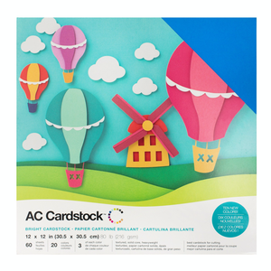 American Crafts - Cardstock Pack: Bright