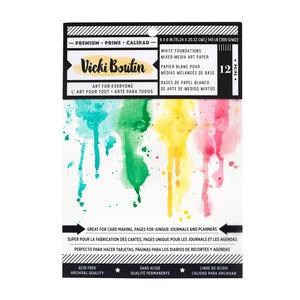 "Vicky Boutin • Wildflower & Honey mixed media paper pad 6x8"""