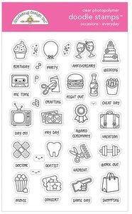 Doodlebug - Doodle Stamps: Occasions Everyday