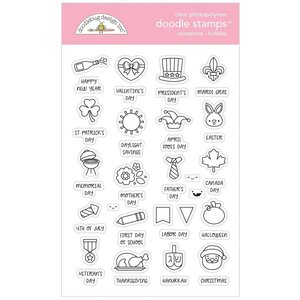 Doodlebug - Doodle Stamps: Occasions Holiday