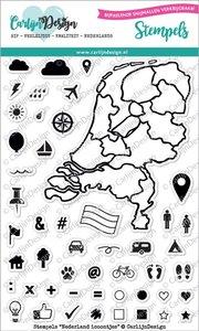 Carlijn design - stempelen - Nederland icoontjes