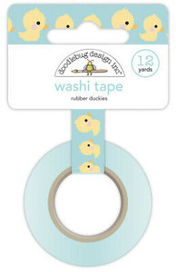 Doodlebug - washi tape: Rubber Duckies