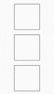 My Favorite Things - Die-namics: Square Trio Shaker Window