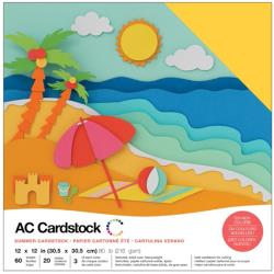 American Crafts - Cardstock Pack: Summer