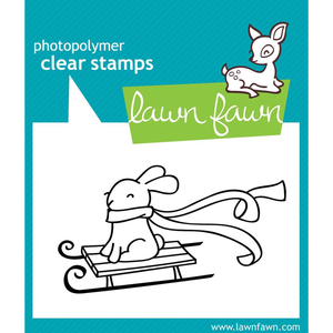 Lawn Fawn - Clear Stamp: Winter Bunny