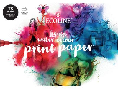 Ecoline Liquid Water Colour Print Paper A4