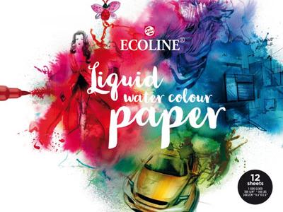 Ecoline Liquid Water Colour Papierblok 24x32 cm