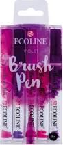 Ecoline Brushpen Set: Violet